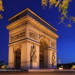 2CV Paris Tour : Visiter Paris en 2CV! Arc de Triomphe