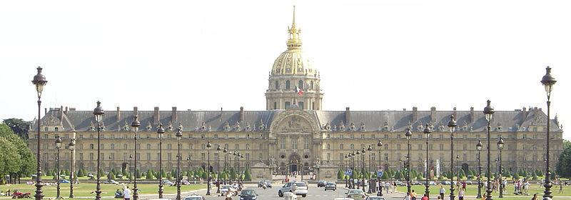 2CV Paris Tour : Visiter Paris en 2CV! Les Invalides