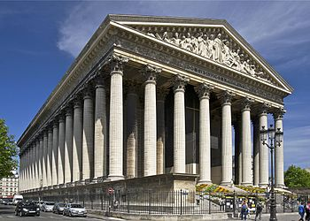 2CV Paris Tour : Visiter Paris en 2CV! La Madeleine