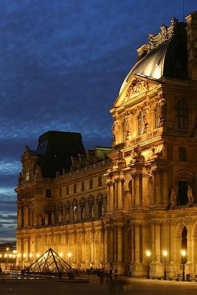2CVParisTour : Visiter Paris en 2CV! Musée du Louvre