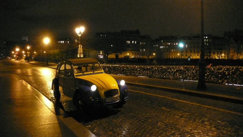 2CVParisTour : Visitez Paris en 2CV - Ile de la Cité