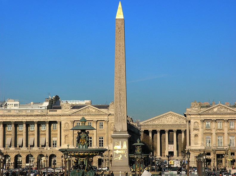 2CVParisTour : Visiter Paris en 2CV! Place de la Concorde