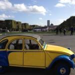 2CVParisTour : Visitez Paris en 2CV - Tour Eiffel 4