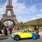2CVParisTour : Visitez Paris en 2CV - Tour Eiffel 5
