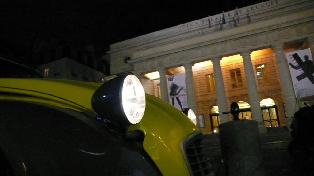 2CVParisTour : Visitez Paris en 2CV! Le Théâtre de l'Odéon