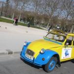 2CVParisTour : Visitez Paris en 2CV!La 2CV au soleil de Paris