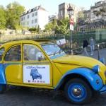 2CVParisTour : Visitez Paris en 2CV! Les vignes de Montmartre