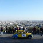2CVParisTour : Visitez Paris en 2CV! Paris depuis Montmartre